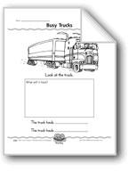 Busy Trucks (Draw a Truck/Add Sentence Details)