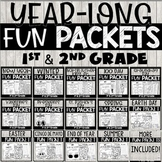 Busy Work Packets Bundle with Halloween Activities