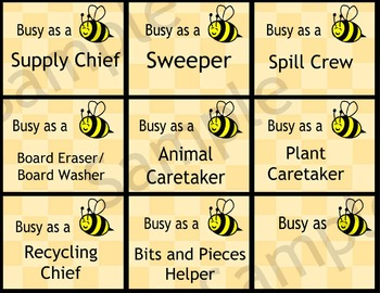 Busy Bee jobs, classroom management system