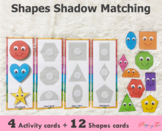 2D Shapes Matching | Silhouette/ Shadow Match | Busy Bags