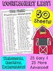 BusyBee Sentence Worksheets The Farm