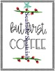 But First, Coffee Decorative Sign, English and Spanish