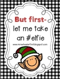 First Grade Elf in the Classroom Activities