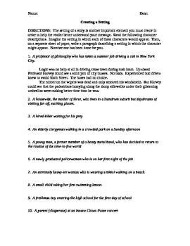 But HOW Do I Start the Essay? 8 topics to help with the writing process