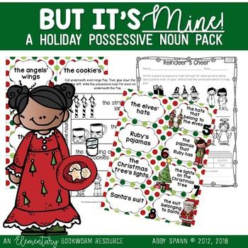 But It's Mine! (A Possessive Noun Mini-Resource Pack)