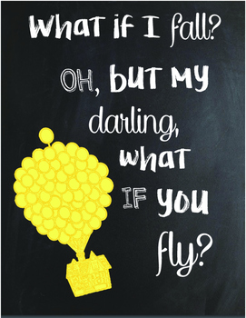 But What If You Fly ... Classroom Decoration