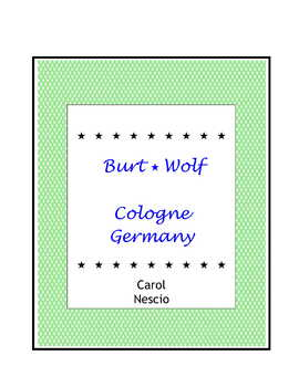 Burt Wolf ~ Cologne, Germany