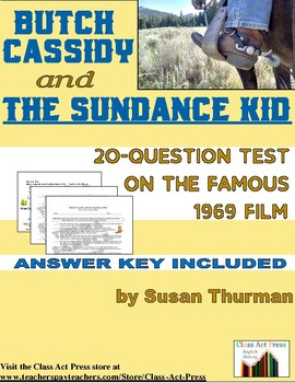 Butch Cassidy and the Sundance Kid: 20-Question Test on the Film