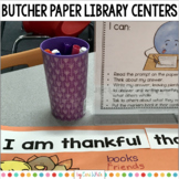 Butcher Paper Library Centers
