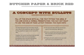 Butcher Paper Powerpoint Template