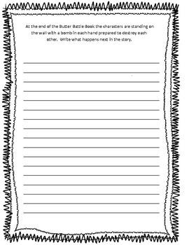 Butter Battle Book Unit