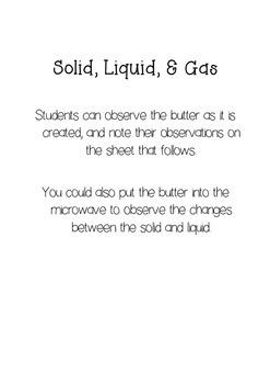 Butter Battle Cross Curricular Activities