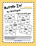 Butter It! - Sight Word Game