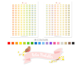 Butter Printable Planner Stickers