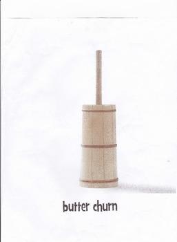Butter making like the pilgrims
