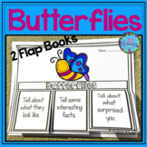 Spring Bulletin Board - Butterflies Writing Flap Books!
