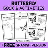 Mini Book and Activities - Butterfly Book
