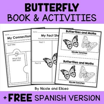 Butterfly Book Activities