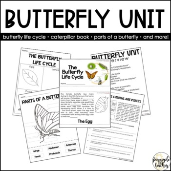 Butterfly Unit (Common Core Aligned)