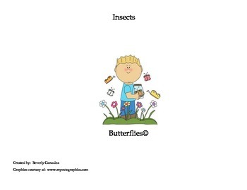 Butterflies (A Short Passage and Comprehension Activities)