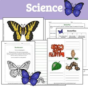 Butterflies: A Unit Study of Butterflies