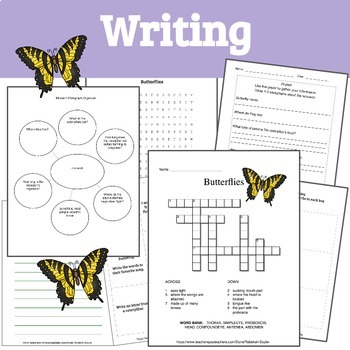 Printable Bugs: Butterflies- A Unit Study of Butterflies