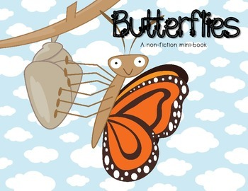 Butterflies - A minibook about lifecycle and adaptations