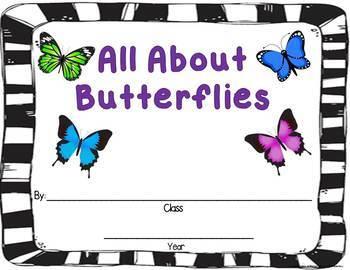Butterflies:  Activities & Centers