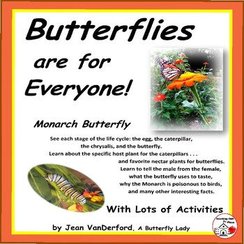 BUTTERFLY ACTIVITIES   Life Cycle   Facts   Quotes   Chart