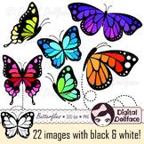 Butterflies / Butterfly Clip Art