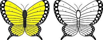 Butterflies Clip Art