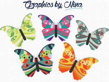 Butterflies Clipart