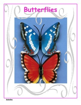 Butterflies - Differentiated Blooms Enrichment Unit