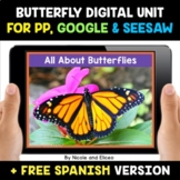 Butterfly Life Cycle Digital Activities for Google and Seesaw