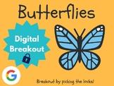 Butterflies - Digital Breakout! (Escape Room, Scavenger Hunt)