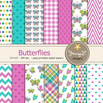 Butterfly Digital Paper