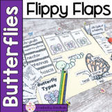 Butterflies Activities Interactive Notebook Lapbook