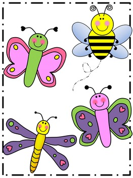 Spring Clip Art {by Busy Bee Clip Art}