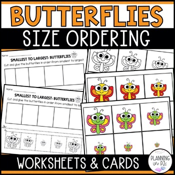 Butterflies - From Smallest to Largest