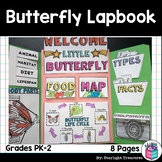 Butterflies Lapbook for Early Learners - Animal Study