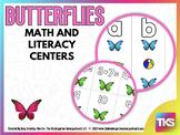 Butterflies!  Math and Literacy Centers