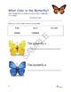 """Butterflies"" Math and Literacy Unit - Aligned with Common Core Standards"