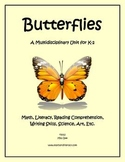 """Butterflies"" Math and Literacy Unit - Aligned with Common"