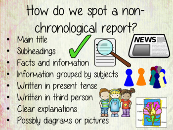 Image result for non chronological report