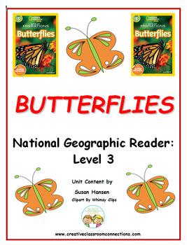 Butterflies: Nonfiction National Geographic Kids Level 3
