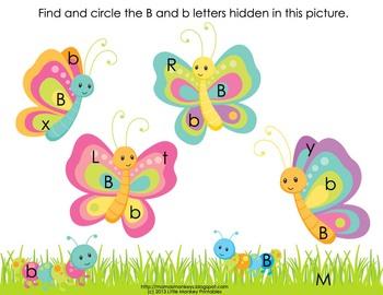 Butterflies Preschool Pack