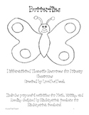 Butterflies:  Purposeful activities for Math, Writing, and Reading for