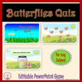 Butterflies Quiz Interactive PowerPoint Game Template