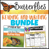 Butterflies: Reading and Writing Bundle {2nd and 3rd Grade}
