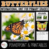 Butterflies Unit: PowerPoint and Printables, Non-Fiction